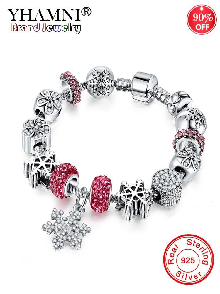 90% ная скидка! Античная 925 Серебряное обручальное кольцо Винтаж серебряные ювелирные изделия браслет, браслет на запястье с подвеска из снеж... - 5
