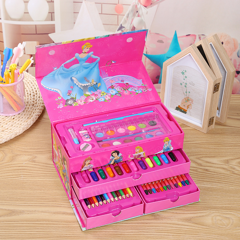Children's Watercolor Pen Stationery Set Portable Watercolor Pen Drawing Set Primary School Gift
