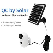 Wireless Solar Ip Camera 720P Wifi Camera Two-way Audio Motion Detection camaras de seguridad inalambricas para el hogar