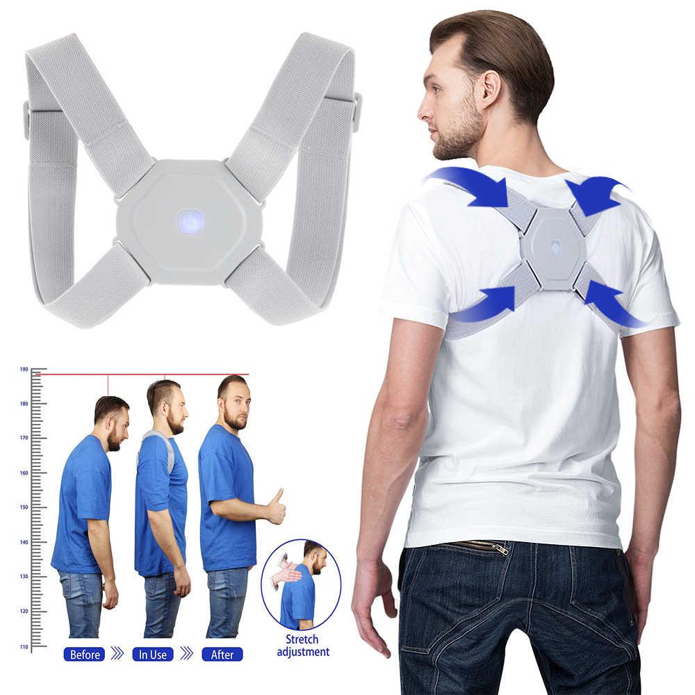 Adjustable Intelligent Posture Corrector Electronic Posture Reminder Back  Brace Straightener Invisible Smart Posture Trainer    - AliExpress