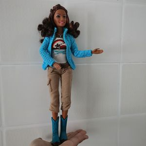 Image 2 - 30cm Limited Style Beautiful Girl 1/6 Doll Women With Clothes Moveable Joints Body Vintage