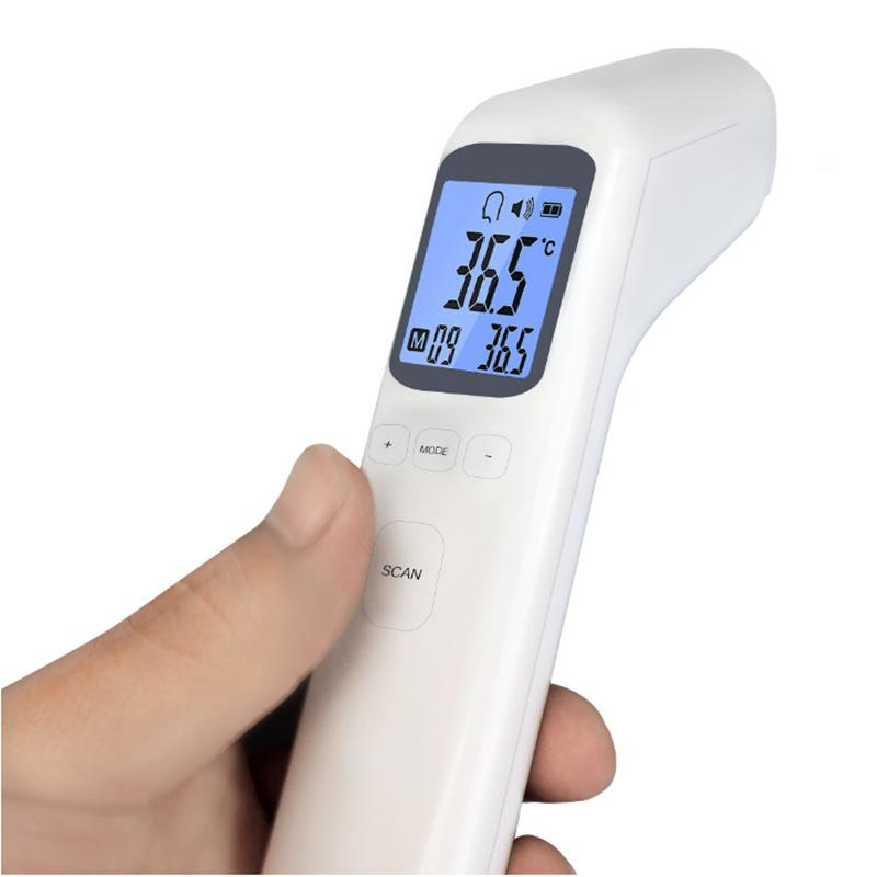 Professional Thermometer Digital IR Infrared Body Thermometer Forehead Ear Laser Thermometer For Adult Children Ship A Month