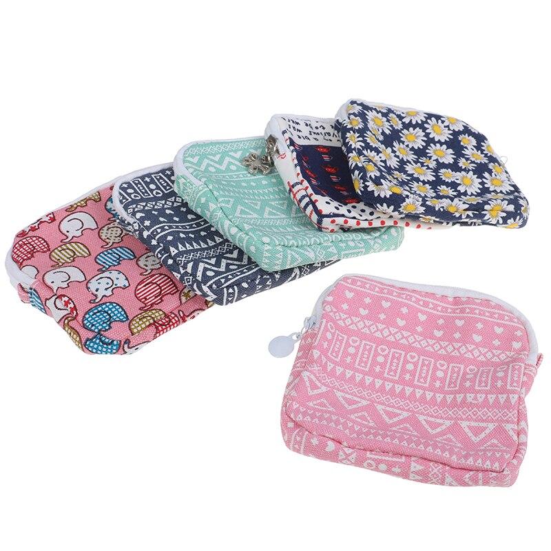 Makeup Bag Menstrual Pad Sanitary Pads Bags Multi-functional Wet Bag Reusable Bag For Mama Cloth Pads Can Be Coin Makeup Tool