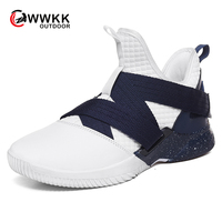WWKK Hot Sale Professional Basketball Shoes Men Damping Sneakers Students Sports Training Match Ball Shoes Zapatos baloncesto