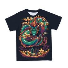 2021新夏カジュアル半袖マリオスーパーファッションtシャツおかしいアニメ3D印刷tシャツヒップホップメンズ服