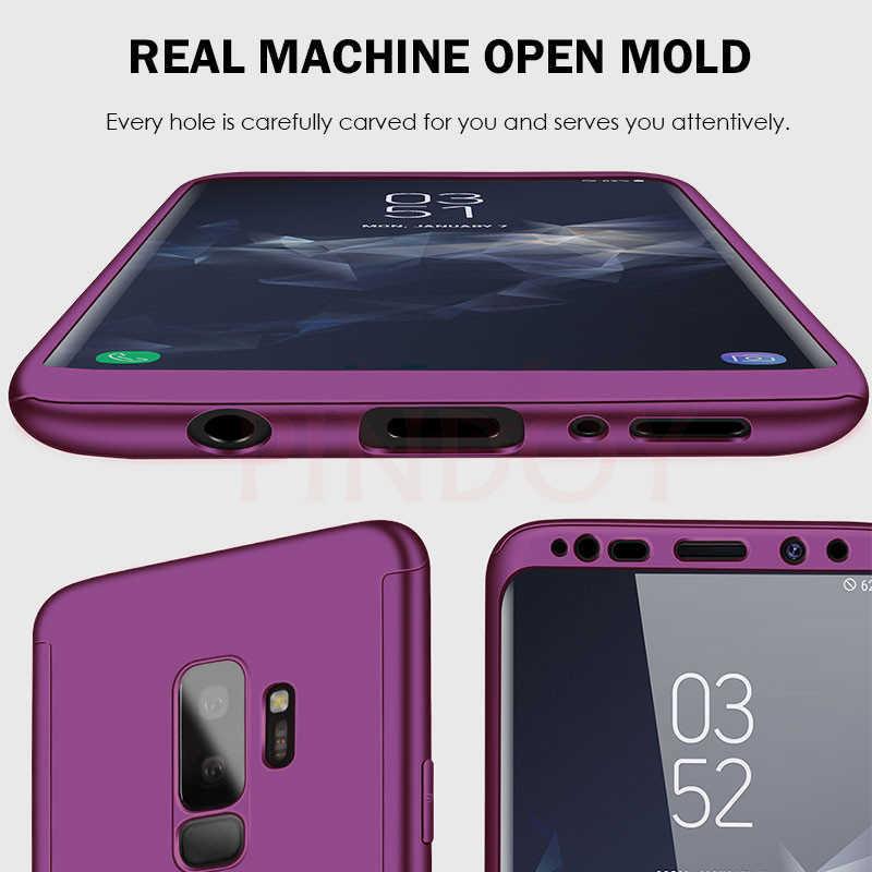Lüks 360 tam kapak telefon kılıfı için Samsung Galaxy S10 S9 S8 artı S7 kenar not 10 9 8 darbeye dayanıklı kılıf S10 artı koruyucu kapak