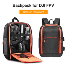Portable Travel Drone Backpack Carrying Bag for DJI FPV Quadcopter Accessories Storage Organizer Container