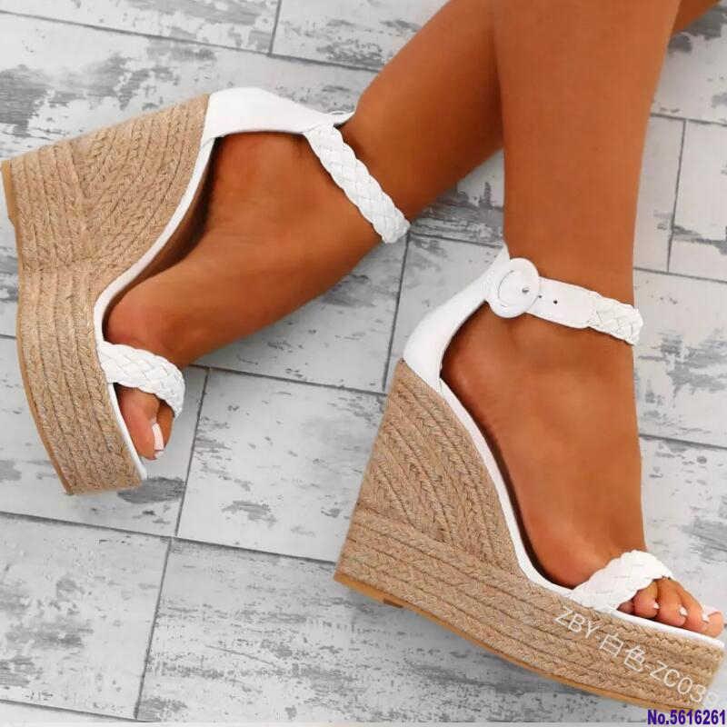 Summer women high heels wedges sandals