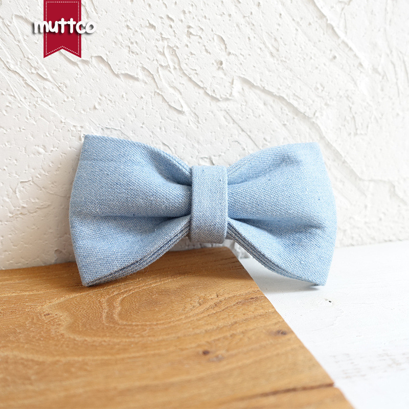 Muttco Supply Of Goods Western Style Pet Bow Double Layer Dog Accessories Bowtie Bow Tie Ubt-034