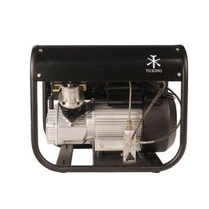 Image 2 - TUXING 4500Psi Doppel Zylinder PCP Elektrische Rir Pumpe Hochdruck Paintball Luft Kompressor für Luft Gewehr 6,8 L Tank 220V 110V