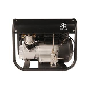Image 2 - TUXING 4500Psi двойной цилиндр PCP Электрический насос Rir высокого давления Пейнтбольный воздушный компрессор для пневматической винтовки 6.8L бак 220 В 110 В