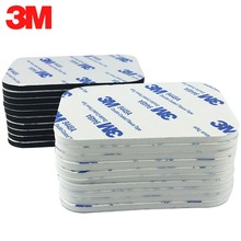3M Super Sticky Double Sided Foam Tape Strong Pad Mounting Adhese Tape Black White Multiple size Include Round and Square 9448A