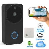 CTVMAN 1080P/720P Outdoor Wireless Wifi Smart Video Doorbell Camera IP Intercom Door Phone Bell Waterproof Security Doorphone