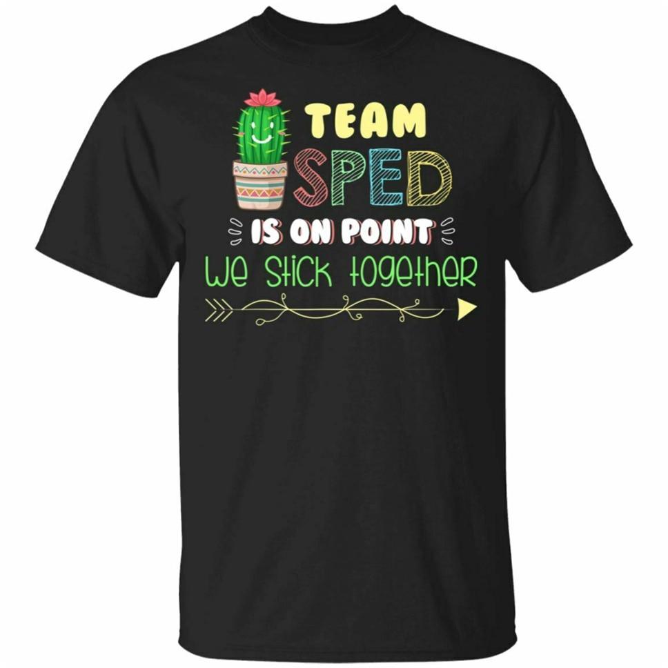 Camiseta con estampado de Cactus para la Educación Especial, regalo de maestro, talla S-3Xl