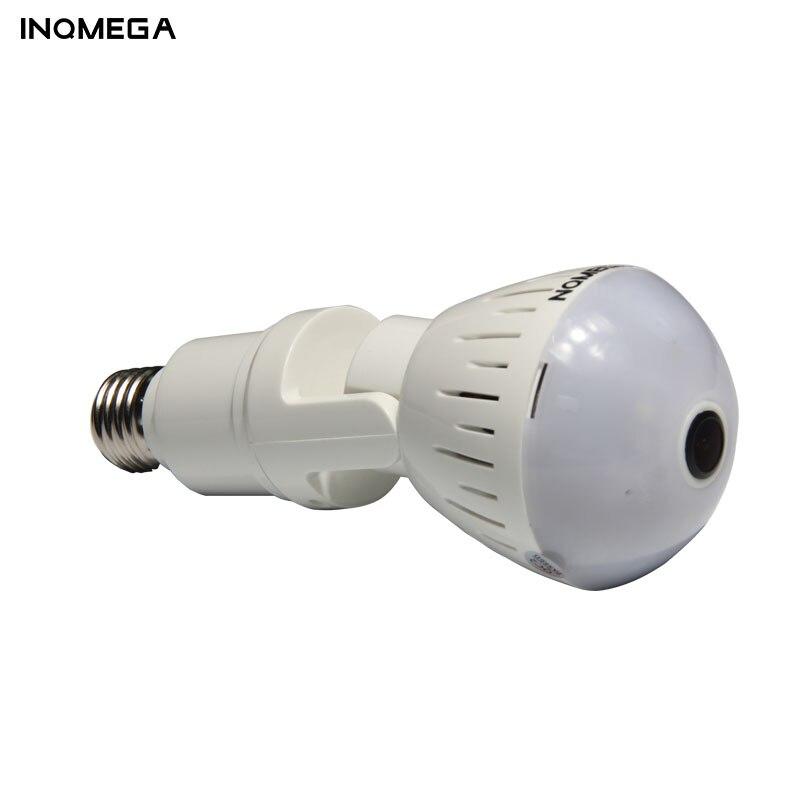 Image 2 - INQMEGA 1080P 360 Degree HD Panoramic Wifi IP Camera Light Bulb Home Security Video VR Camera V380 Wireless WiFi Kamera IndoorSurveillance Cameras   -