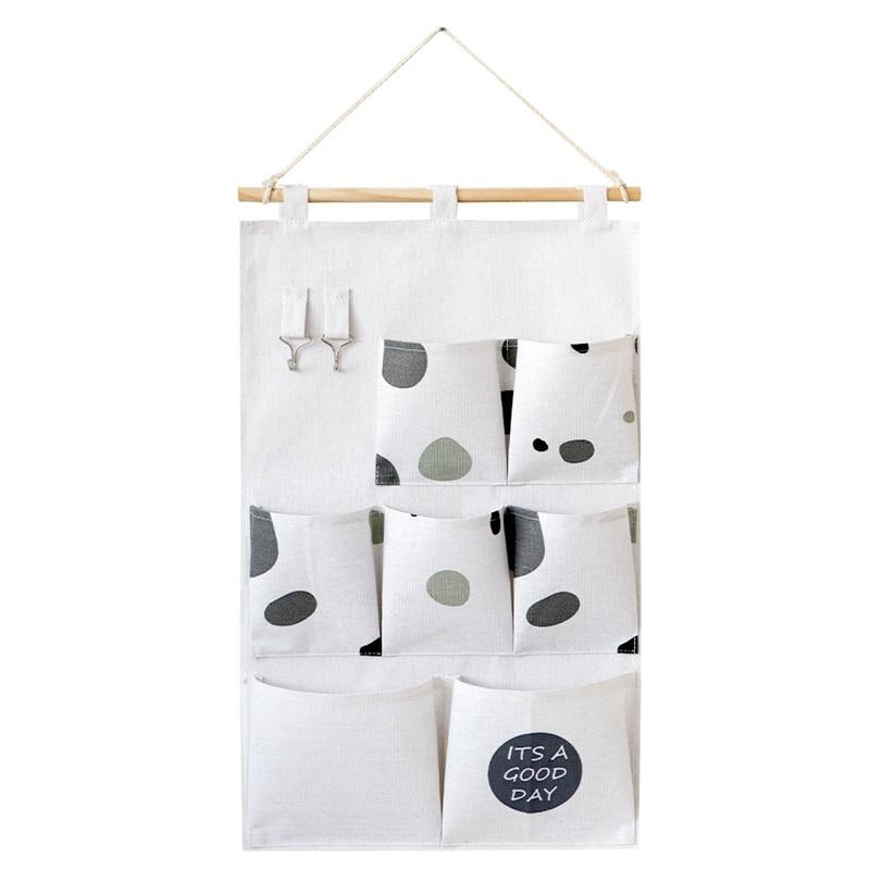 Carttoon настенная подвесная сумка для хранения в скандинавском стиле, органайзер для детской кроватки, декор для детской комнаты, детская игрушка, сумка для хранения подгузников, Домашний Органайзер - Цвет: 5