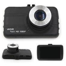 3 дюймов Автомобильный видеорегистратор Скрытые мини автомобильный gps двойная запись объектива 1080P HD Автомобильный видеорегистратор с функцией ночного видения автоматическая регистр