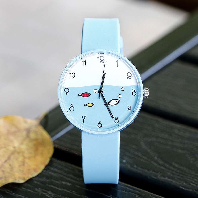 Fashion Trend Children's Watch Female Student Cute Elementary School Students Luminous Quartz Children's Watch