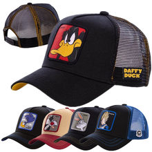 Hot Koop Twee Merk Anime Cartoon Cap Hoge Kwaliteit Patch Trekken Baseball Cap 58 Stijlen Trucker Hoed Gorras Pet Dropshipping(China)