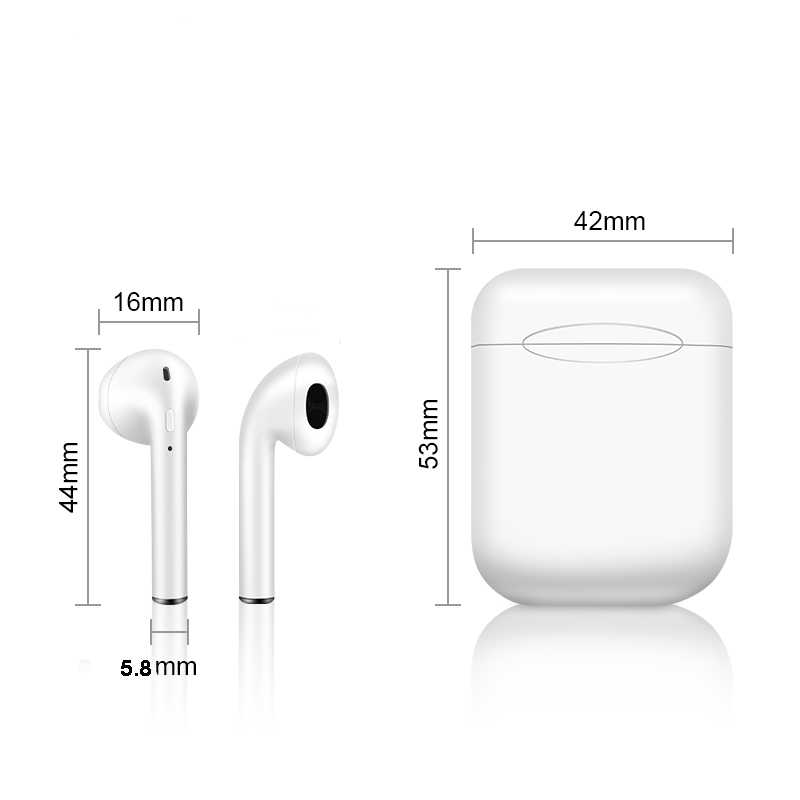 i11 Original Wireless Bluetooth i11-tws Earbuds Ture Double Earphones Twins Earpieces Stereo Music Headset For iPhone 8 Plus