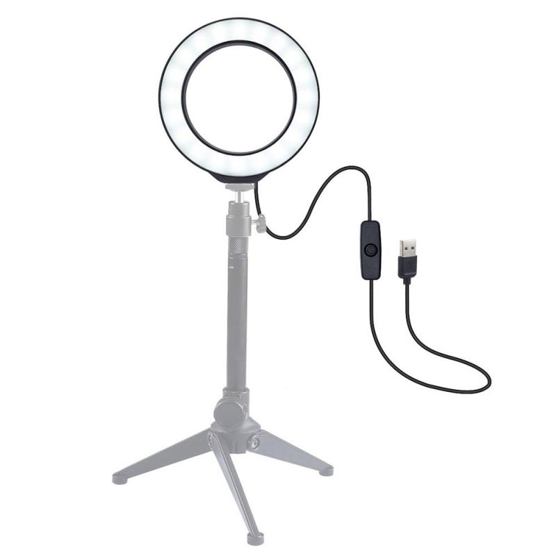 4 7 Inch selfie studio video camera LED ring Light photo Lamp Led Fill Light youtube ringlight Photography Accessories lighting