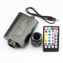 Автомобильный волоконно оптический свет blutooth управление