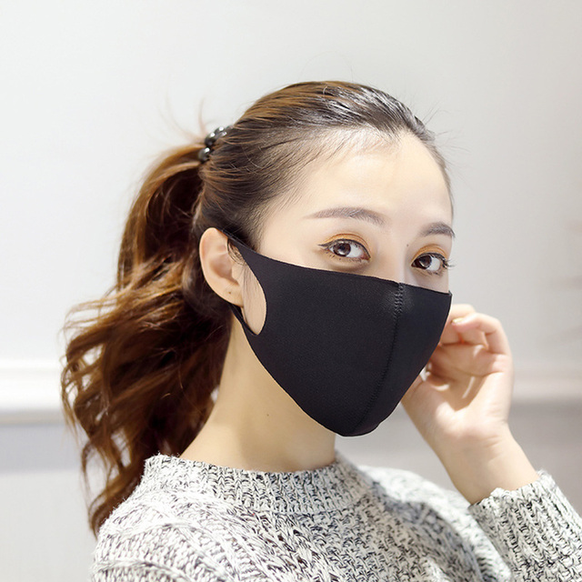 1pcs/5pcs Reusable Breathable Three-dimensional Mask Face Cover Adult Unisex Mouth Mask 2