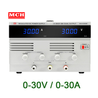 30V 20A 30A Switching Adjustable DC Power Supply for Lab Power Source Benchtop Power Supply Unit Voltage Generator
