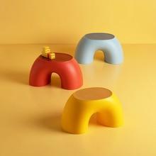 Anti-slip low stool children stool durable household bathroom comfortable stool office