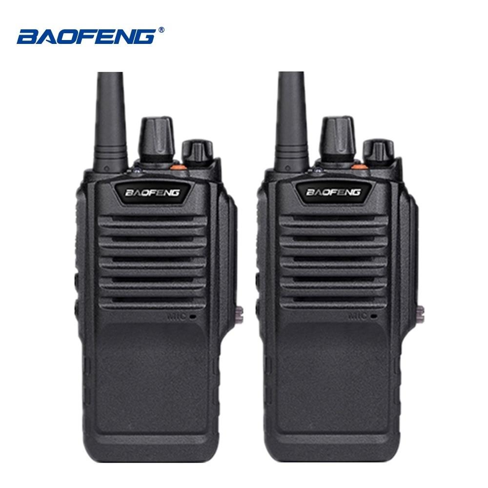 2pcs Baofeng Waterproof BF-9700 IP67 Walkie Talkie 7W 2800mAh UHF Radio Amador BF 9700 Walki-talki BF9700 Woki Toki Handy Talky