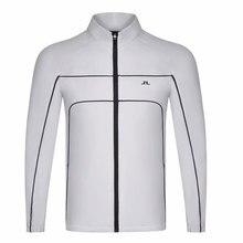 Новинка, Мужская одежда для гольфа, новинка, весна-осень, JL Golf, спортивная куртка, плюс бархат, для отдыха, полная куртка для гольфа, Cooyute