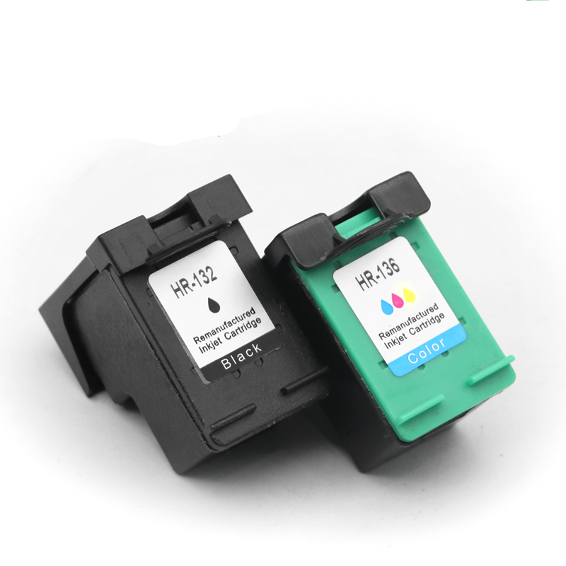 <font><b>Ink</b></font> Cartridges For 132 XL 132XL HP132 HP132XL PHOTOSMART <font><b>C3100</b></font> C3110 C3125 C3135 C3140 C3150 C3170 C3173 Inkjet Printer image