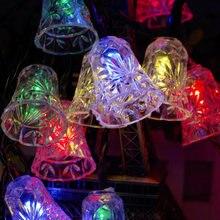 Twinkly светильник s колокол Рождественская елка украшения строка