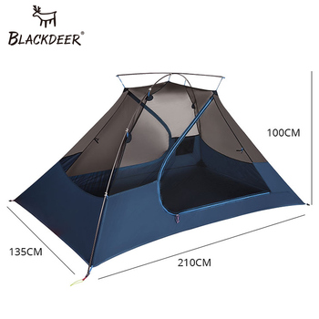 2 Person Upgraded Ultralight Tent 20D Nylon Silicone Coated Fabric Waterproof Tourist Backpack Tents outdoor Camping 1.47 kg 2