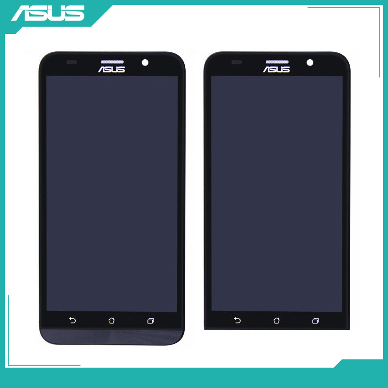 For Asus Zenfone 2 ZE551ML Z00AD LCD Display Touch screen digitizer Assembly Repair For Asus ZenFone 2 ZE551ML LCD Screen-in Mobile Phone LCD Screens from Cellphones & Telecommunications on