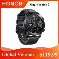 Honor-reloj inteligente Magic 2, resistente al agua, con Bluetooth 5,1, control del ritmo cardíaco, 14 días de llamadas telefónicas, para Android e iOS