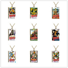 Miniature Naruto TINY Book Cover Pendant Necklace Japanese Anime Naruto Book Cartoon Uzumaki Naruto Necklace