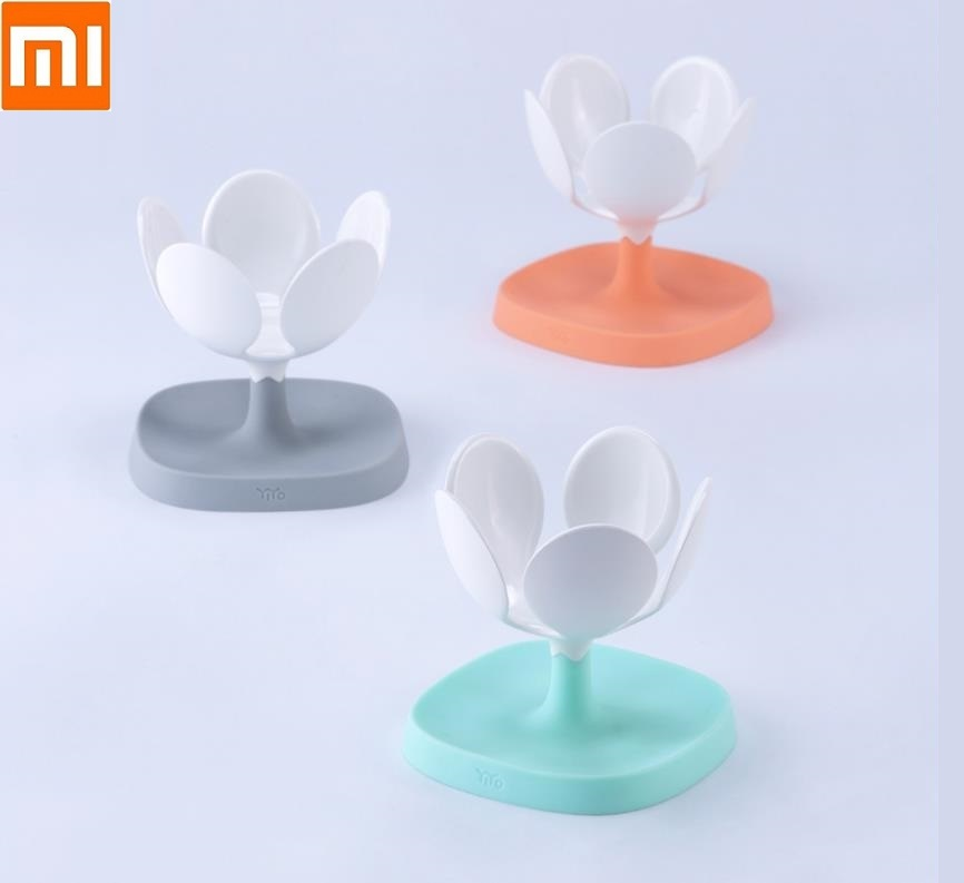 Xiaomi YIYOHOME Water Lily Storage Soap Tray Small And Chic Fashion Personality Soap Box Unique Shelf Laundry Soap Stand