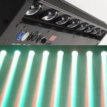 Caso do vôo barra conduzida feixe 8x12w rgbw 4in1 movente cabeça luz led pixel feixe 8x12w luz excelente para dj disco party transporte rápido
