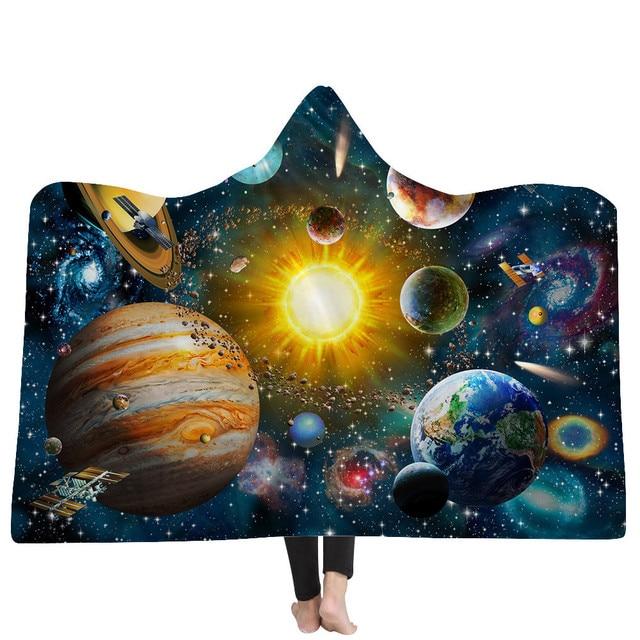 3D Cosmos Hooded Blanket 1