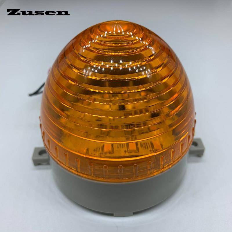 Zusen TB60 220V Small Signal Warning Light LED Lamp Small Flashing Light