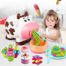 19 шт diy play Тесто глина тесто Пластилин машина для мороженого