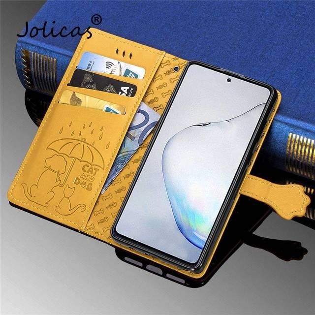Mignon chaton couvre pour telefoon Redmi Note 8T plaine cellulaire sFor Cove Xiaomi Redmi étui Note 8T étui à rabat en cuir PU hongmi