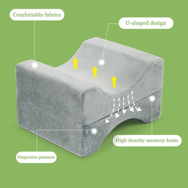 Фото подушка с эффектом памяти для сна между ногами подушка боковых цена