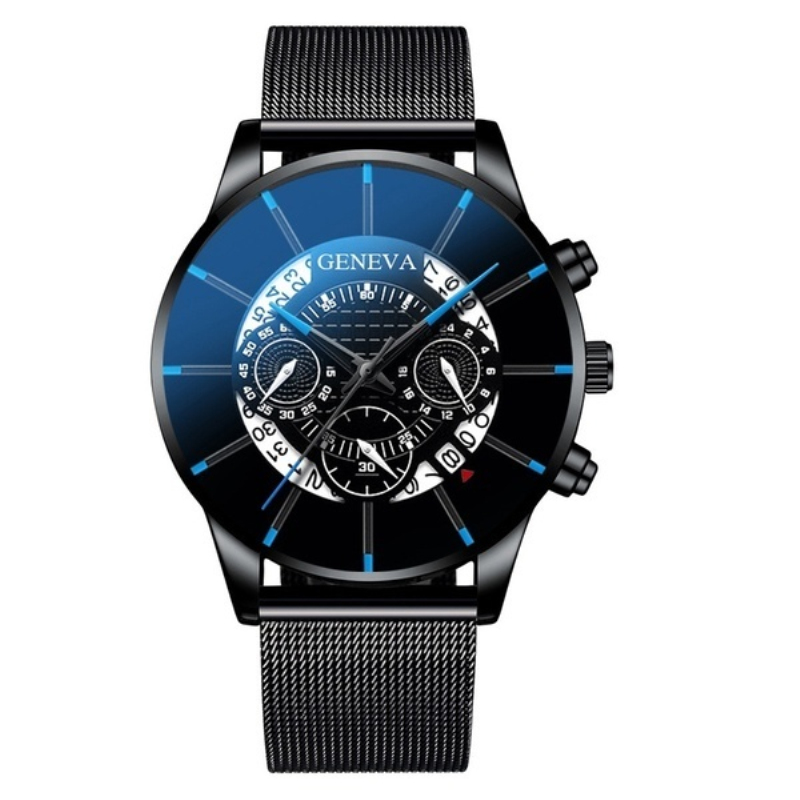 Men Fashion Watch Top Brand Luxury Calendar Stainless Steel Men's Watch Male Business Quartz Sport Watches Clock Reloj Hombre