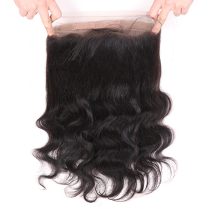 Image 5 - Superfect 13x4 13x6 360 Lace Frontal With Bundles Remy Brazilian Body Wave 3 Bundles Human Hair Weave With Lace Frontal