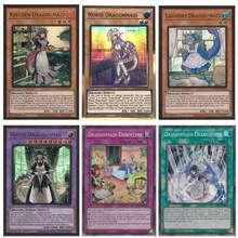 Yu Gi Oh English Dragonmaid Series Distillery/Baby Care/Laundry/Housekeeper Dragon Girl PGR/SR Card Hobby Collection Card MAGO