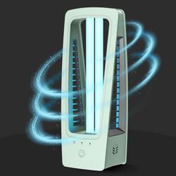 Lámpara Ultravioleta de desinfección, lámpara de esterilización UV portátil de ozono de 36W UVC, lámpara de ácaros de desinfección de escritorio para el hogar