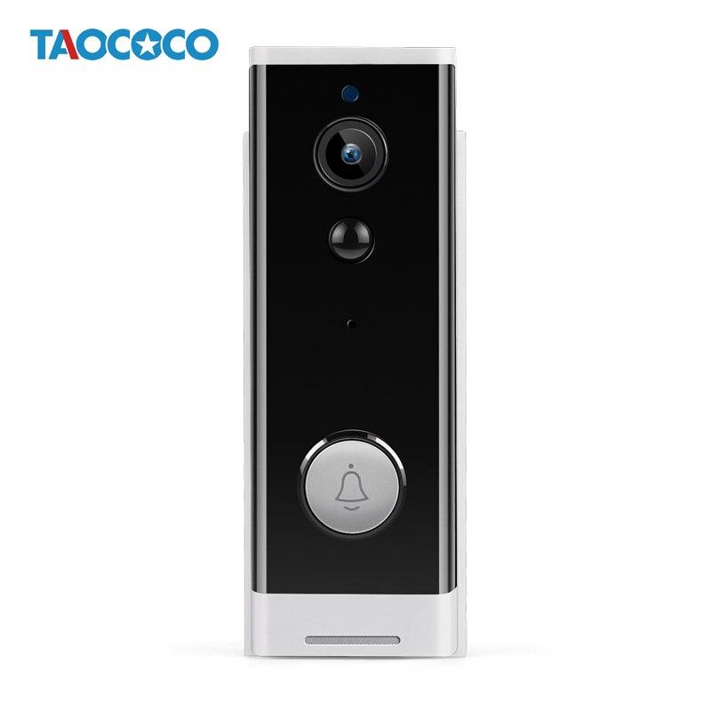 1080P Mini Doorbell Camera Wireless Smart Video Ip Camera WiFi Video Intercom 2.0MP Battery-powered Camera APP Control Door Bell