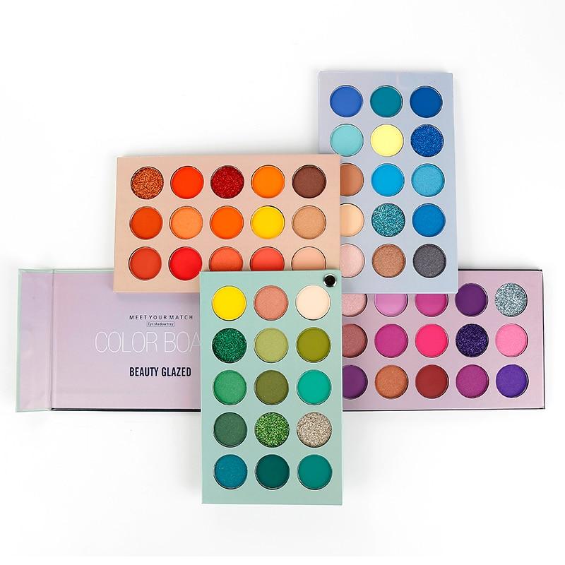 60 Color Matte Eye Shadow Pallete Makeup Glitter Pigment Cosmetic Highlight Eyeshadow Palette Make Up Waterproof Cosmetics TSLM1